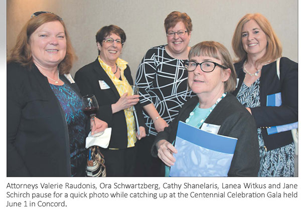 NH Women's Bar Association Centennial Celebration