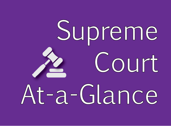 Supreme Court at-a-Glance