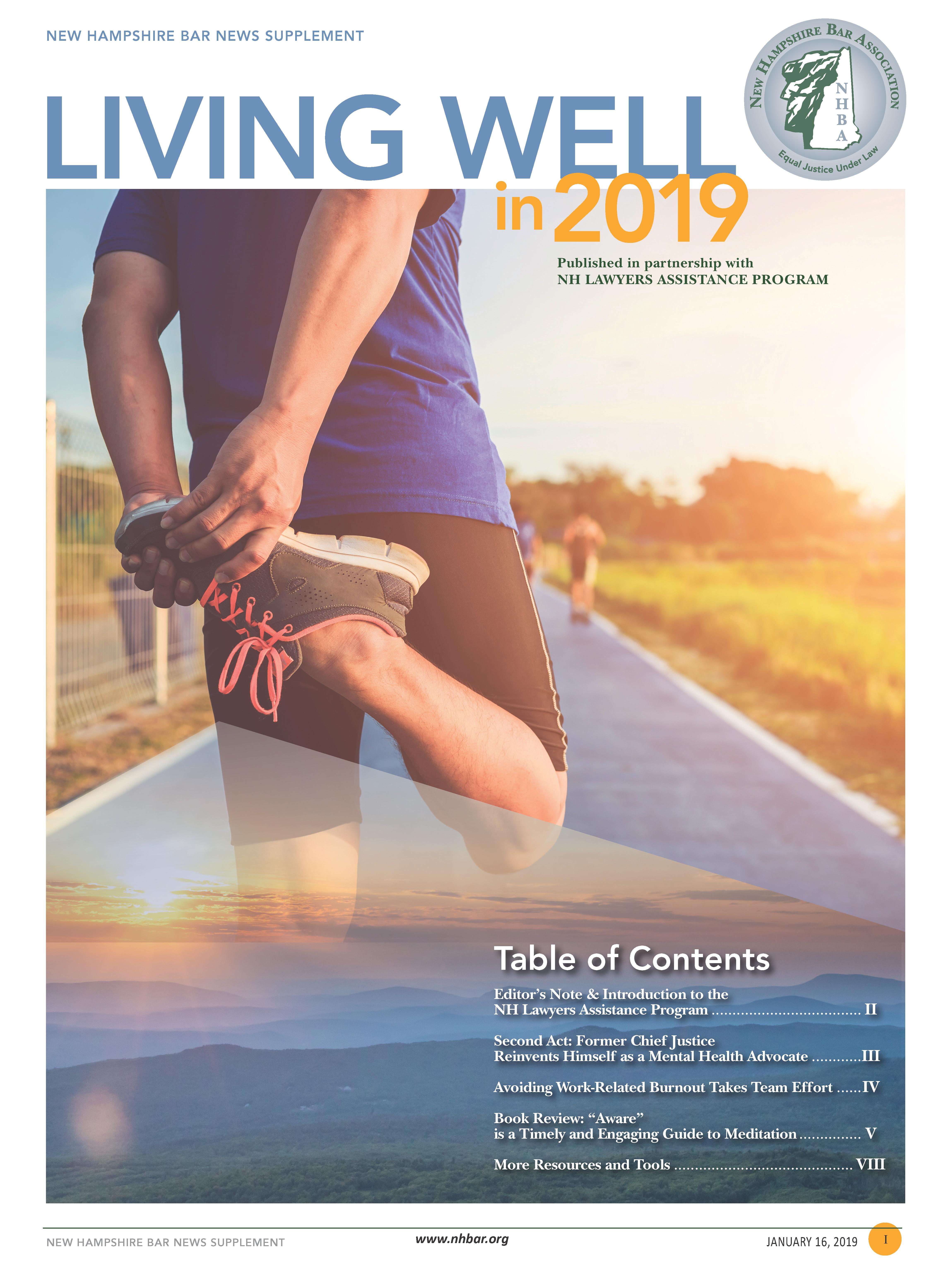 Bar News ~ Wellness  2019