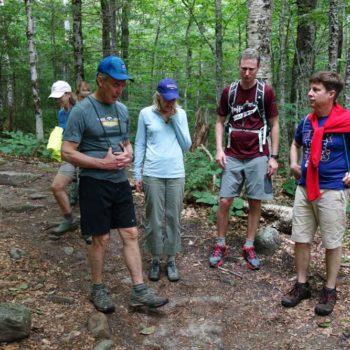 NHBA-Pierce-Mountain-Hike---rest-stop-with-,-Kathleen-Gleason,-Lauren-Kilmister,-Hon-for-web