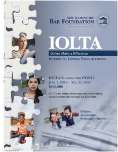 NH Bar Foundation IOLTA annual report
