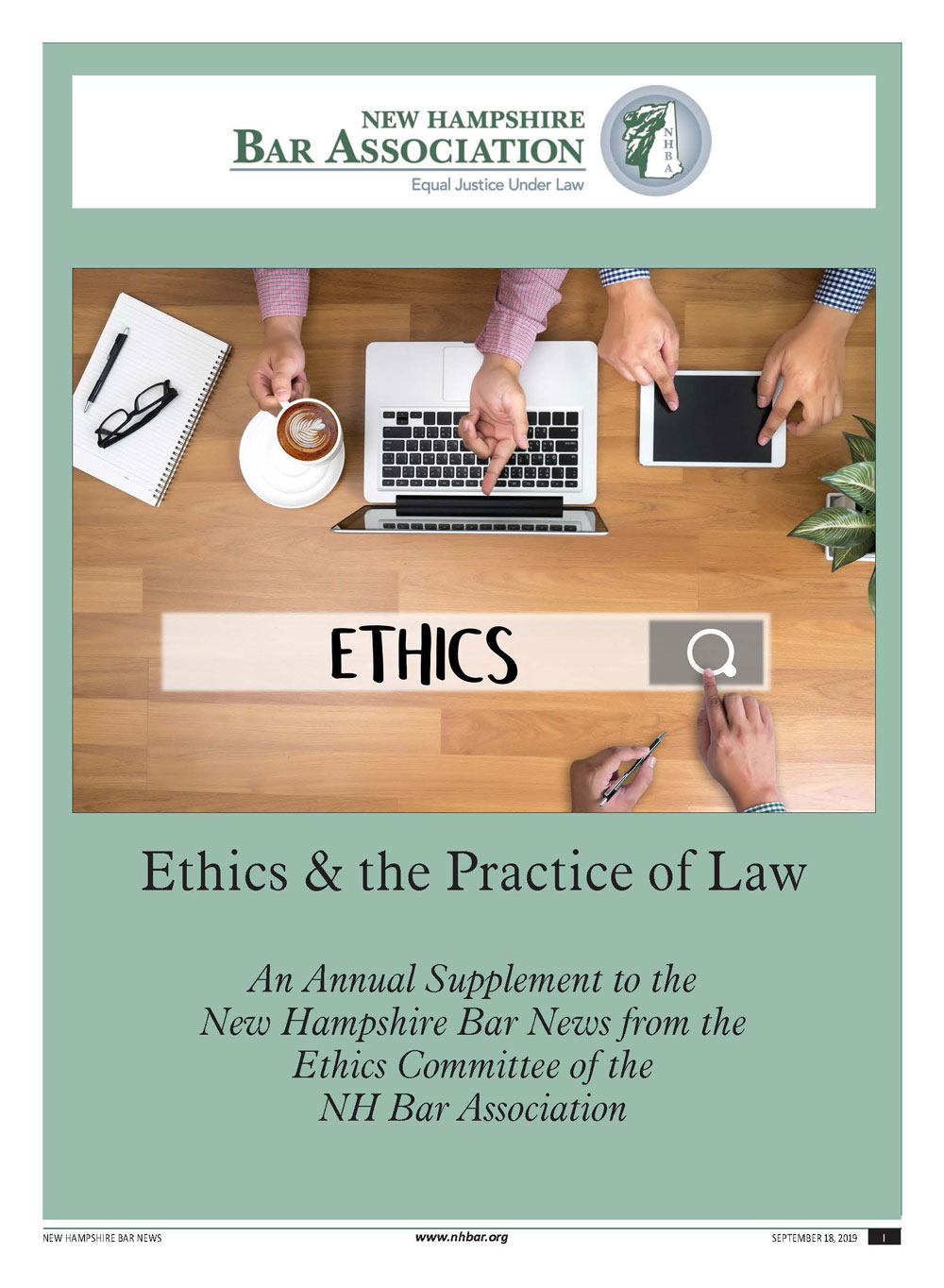 Ethics & the Practice of Law – 2019