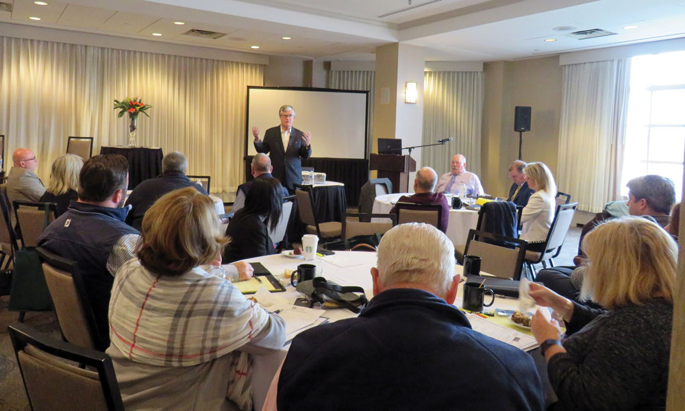 Former NH Chief Justice John Broderick discussed mental health awareness