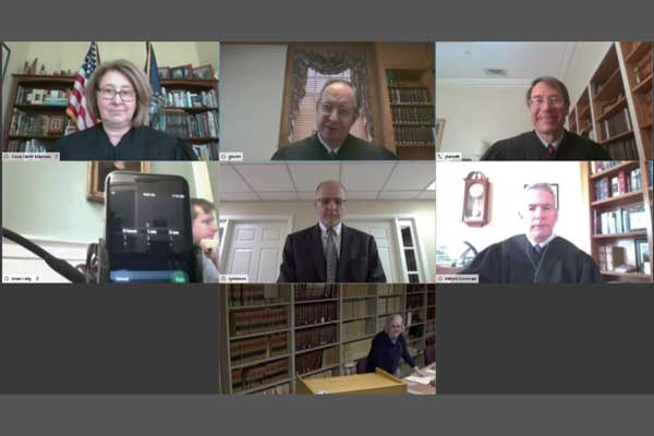 The New Hampshire Supreme Court Goes Remote