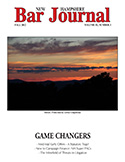 NH Bar Journal - Volume 53, Number 3 - Game Changers