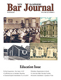 NH Bar Journal - Volume 53, Number 4 - Education Issue