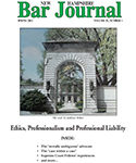 NH Bar Journal - Volume 53, Number 1 - Ethics, Professionalism and Professional Liability