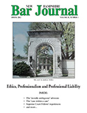 Spring 2012 Vol. 53, No. 1  Ethics, Professionalism and Professional Liability