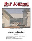 Winter 2012 Vol. 52, No. 4  Internet and the Law