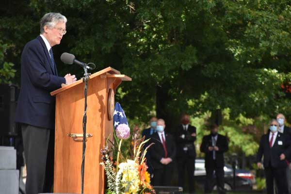 Governor Stephen Merrill remembered by friends and colleagues in Concord