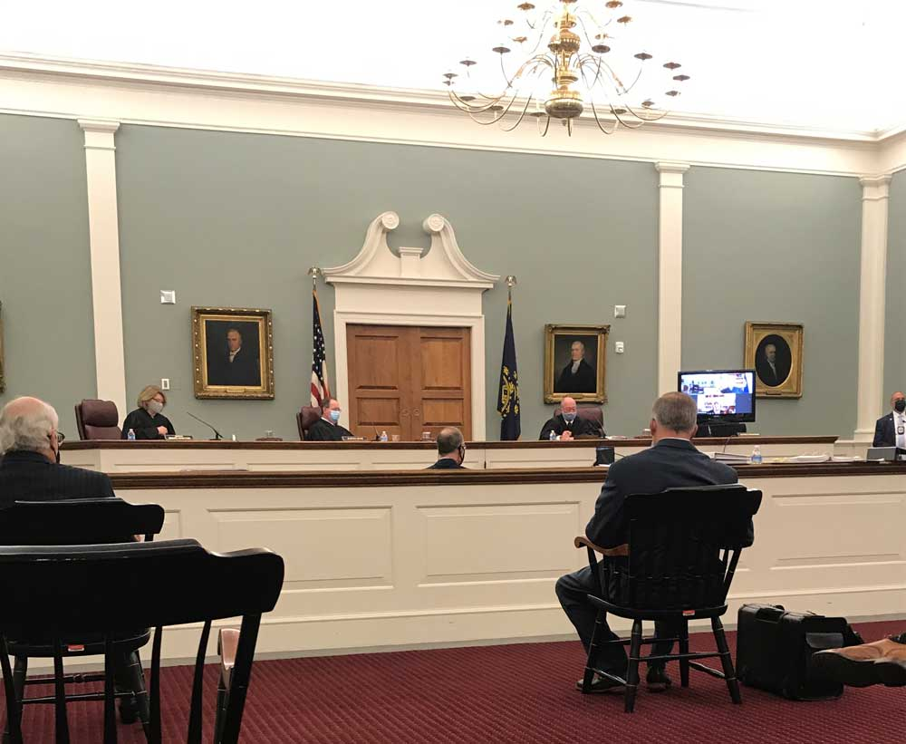 "The NH Supreme Court Hears Oral Arguments on the ""Laurie List"""