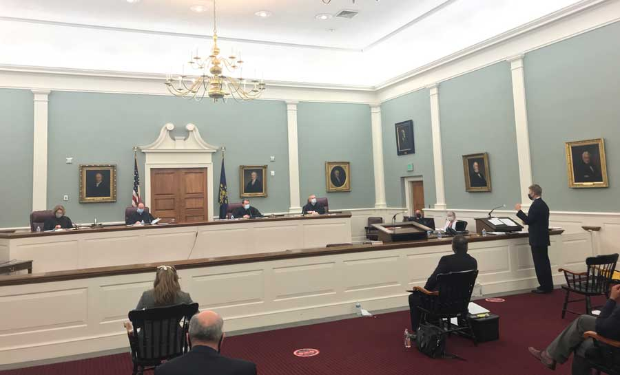 The New Hampshire Supreme Court Hears Oral Arguments in School Funding Lawsuit