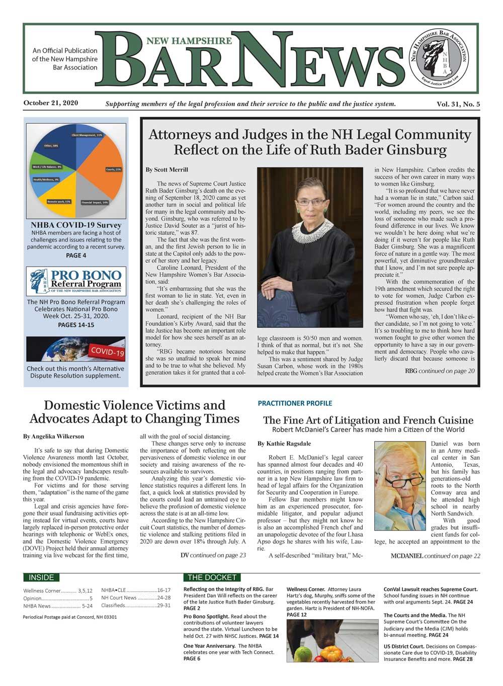 Bar News October 21, 2020