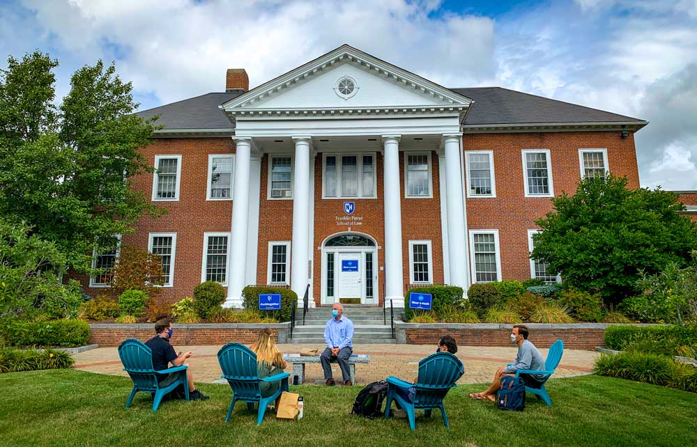 1L Students at UNH Franklin Pierce School of Law Doing Their Best This Fall