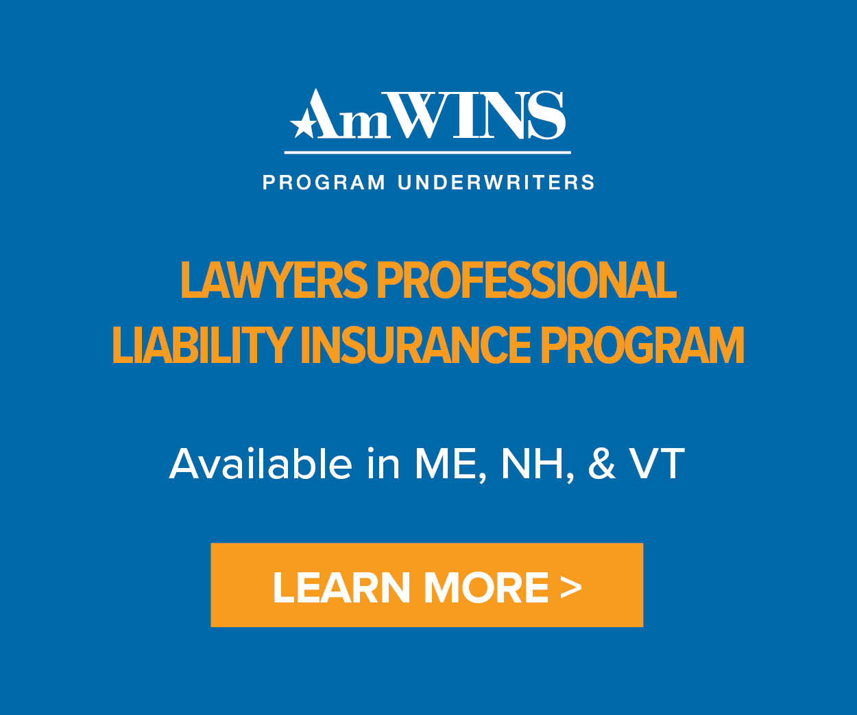 Ad AdWind Lawyers Professional Liability Insurance Program